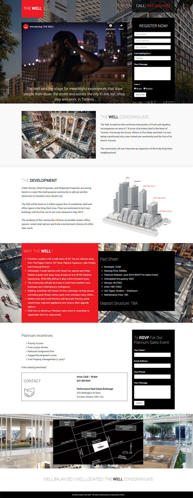 Landing Page Design Toronto Mississauga