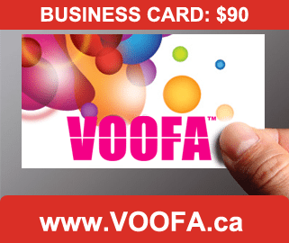 business card design toronto