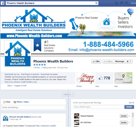 facebook business page design