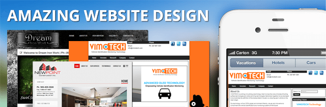 Website Template Design Custom