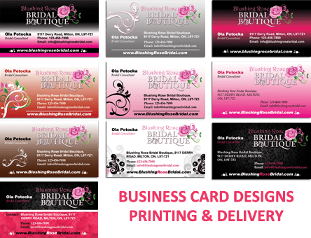 Business Card Design Sacramento California