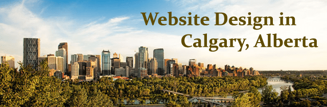 Calgary website design company alberta