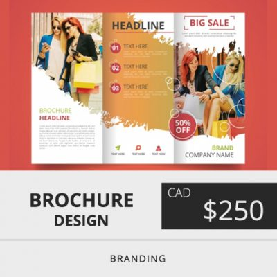 Toronto Brochure Design Price