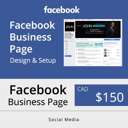 Toronto Facebook Business Page Design