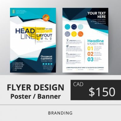 Toronto Flyer Design Price