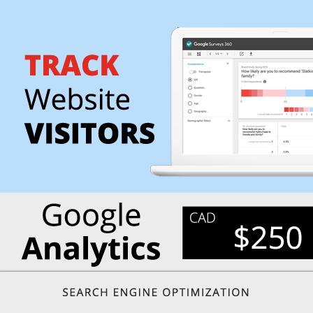 Toronto Google Analytics Price