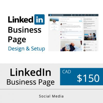 Toronto LinkedIn Business Page Design