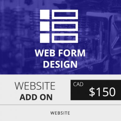Toronto Website Form Design