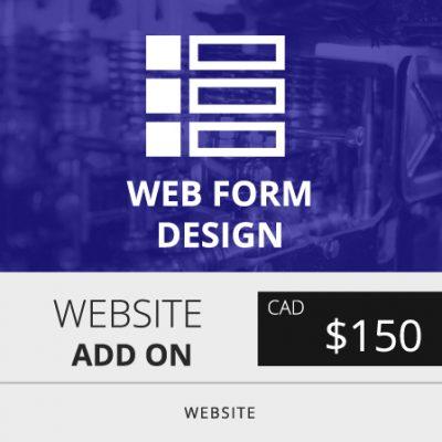 Toronto Website Form Design