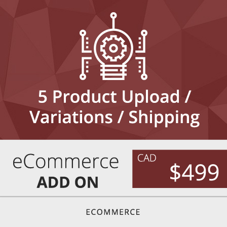 Toronto Woocommerce product variations
