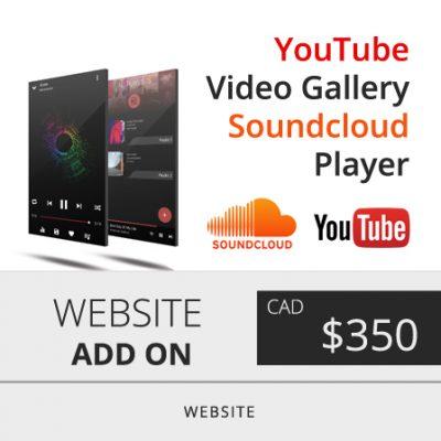 Toronto Youtube Video Gallery Web Design