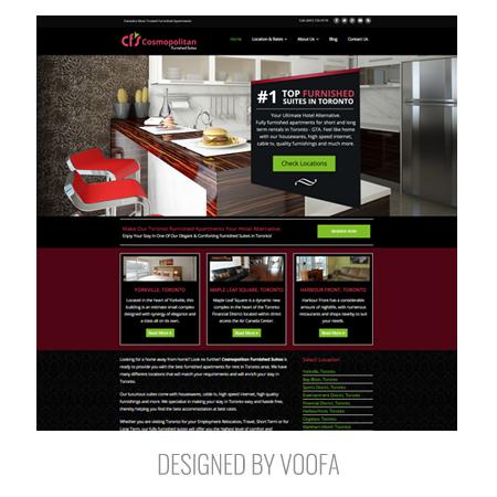 North York Property Management Rental Web Design
