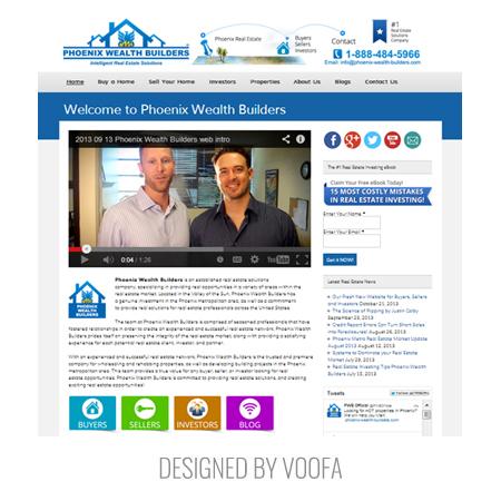 Real Estate Construction Web Design