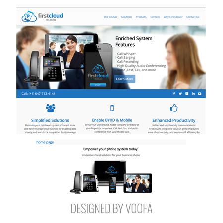 Toronto Business to Business | Telecom Web Design