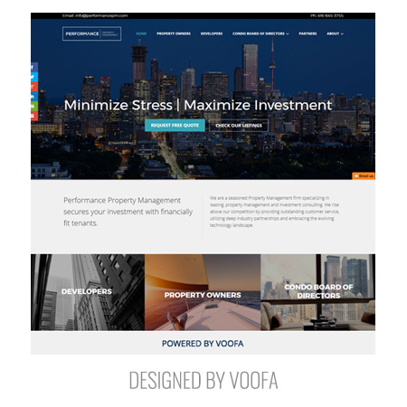 Toronto Property Management Web Design Company