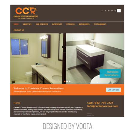 Toronto Renovation Web Design