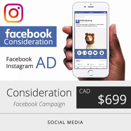 Facebook Consideration Ad Campaign Marketing