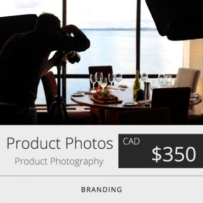 Toronto Product Photography
