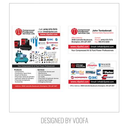 B2B Flyer & Business Card Designs