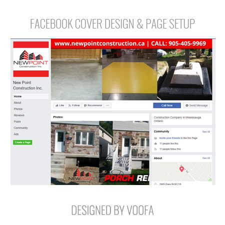 Renovation Company Facebook Page