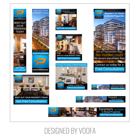 Property Management AdWords Banner Design