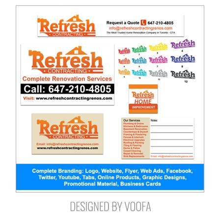 Renovation Company Branding