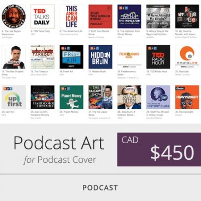 Toronto Podcast Artwork Designer