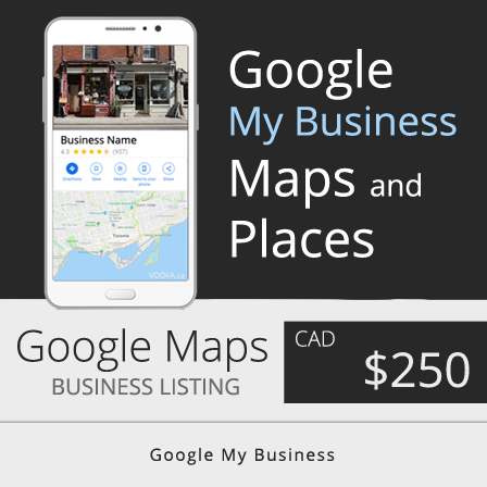 Google My Business Listing Maps