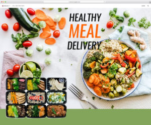 Toronto Healthy Meal Delivery Web Design Company
