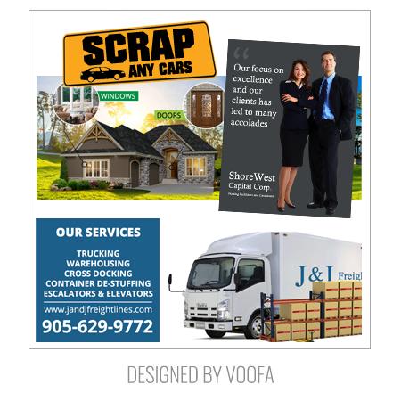 Toronto Magazine Ad Design Logo Flyer