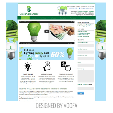 Green Energy Web Design