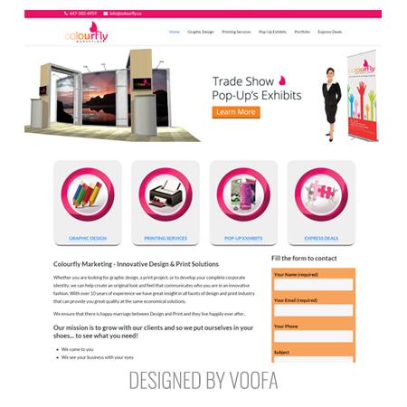 Printing Company Web Design