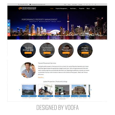 Property Manager Web Design