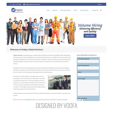 Recruiting Business Web Design