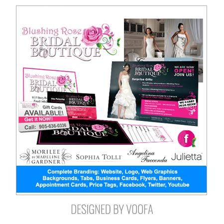 Boutique Flyer Design & Branding