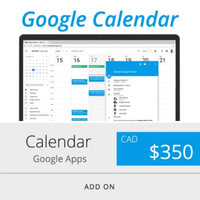 Google Calendar for Website Embed