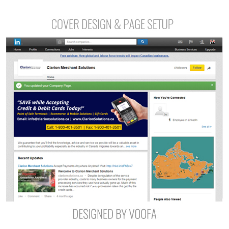 LinkedIn Business Page Cover Design