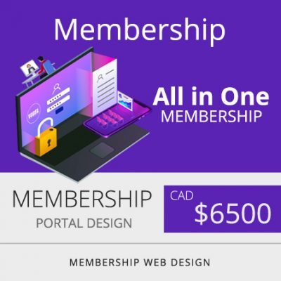 membership Web Design