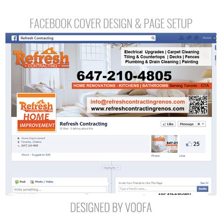 Renovation Company Social Media Marketing