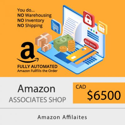Amazon Affiliate Web Design